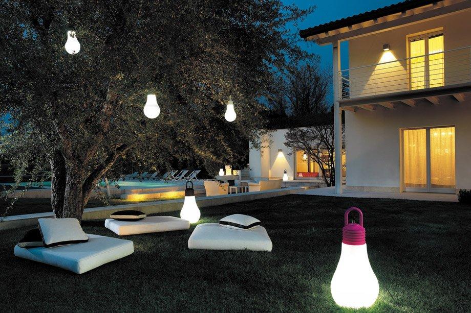 Oświetlenie Ogrodowe Nocne życie Ogrodu Nixpolpl